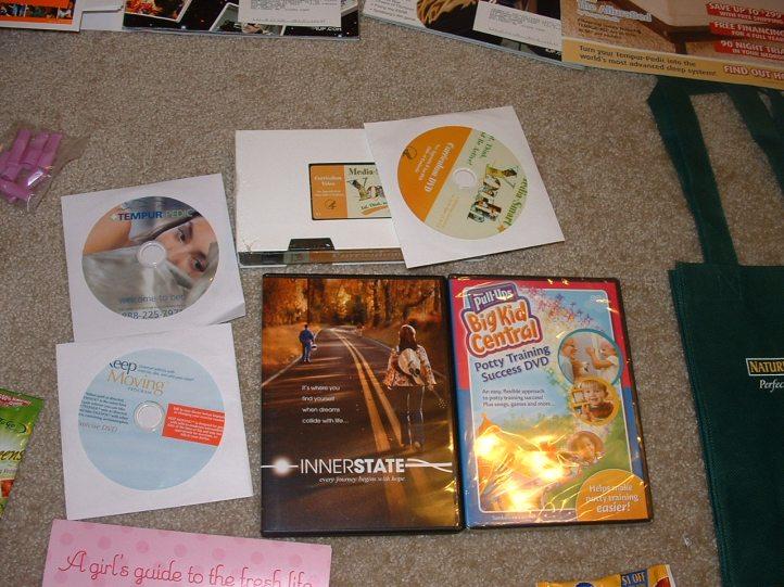 DVDS/Videos/CDs